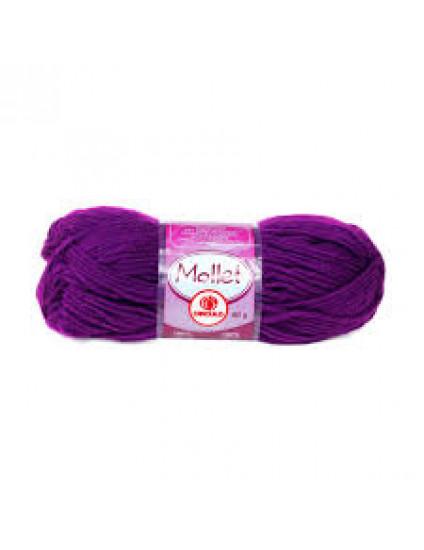 Lã Mollet Cor Beterraba