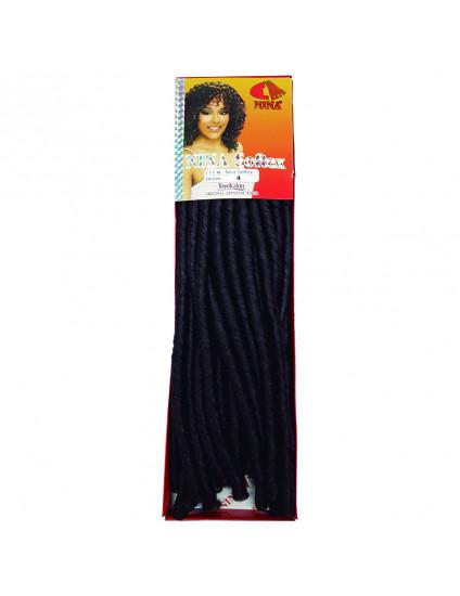 Cabelo Sintético Nina Softex Crochet Braid - cor Castanho Escuro (4)