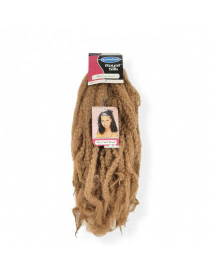 Cabelo Afro Twist Marley Braid - Cor Mel Dourado (27)
