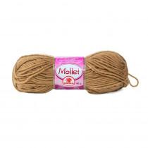 Lã Mollet Cor Marrom Canela