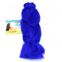 Cabelo Sintético Jumbão 360g - Cor Azul (BLUE)