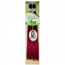 Cabelo Orgânico Fada - Cor Preto com Vermelho (TT1B/530)