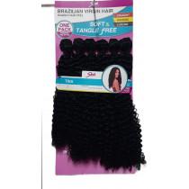Cabelo Orgânico - Brazilian Virgin Hair Tina 1b (Preto)