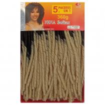 Cabelo Sintético Nina Softex Crochet Braid - Pacotão Cor (T1/613)