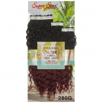 Cabelo Orgânico Praiana cor TT2/118 (Ombre vinho)