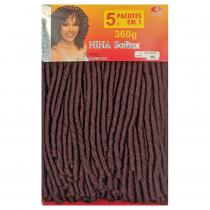 Cabelo Sintético Nina Softex Crochet Braid - Pacotão Cor (99J)