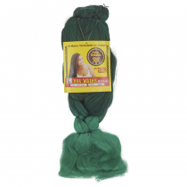 Cabelo Sintético Jumbão 399g Cor  Verde Bandeira mesclado com Preto (1T2615)