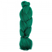 Cabelo Sintético Jumbão 399g - Cor Green (Verde)