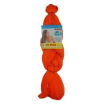 Cabelo Sintético Jumbão 360g - Cor Orange