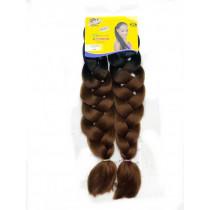 Cabelo Ultra Jumbão Ombre Hair 2-6 (Preto Com Cobre)- Ser Mulher