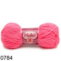 Lã Mollet Cor Rosa