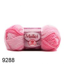 Lã Mollet Cor - Mescla Rosa