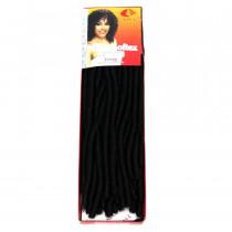 Cabelo Sintético Nina Softex Crochet Braid - cor Preto (1)