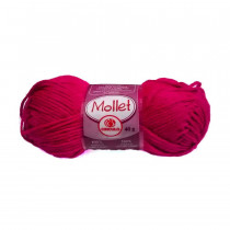 Lã Mollet Cor Pink