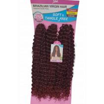 CABELO BIO FIBRA CROCHET BRAZILIAN VIRGIN HAIR SLEEK JAINARA COR T1B/530