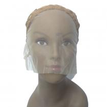 Touca para confecção de perucas lace front - Marrom