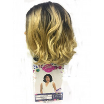 Peruca Wig Esmeralda Cor (TT4/86D) Ombre com  Loiro Clarissimo