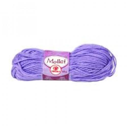 Lã Mollet Cor Lilás