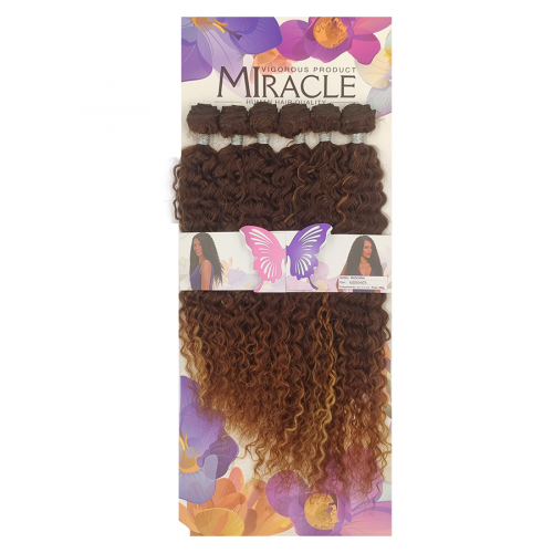 Cabelo Orgânico Miracle Madonna - Cor HL433/613+1427A