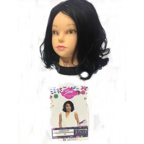 Peruca Wig Esmeralda Cor (1) Preto